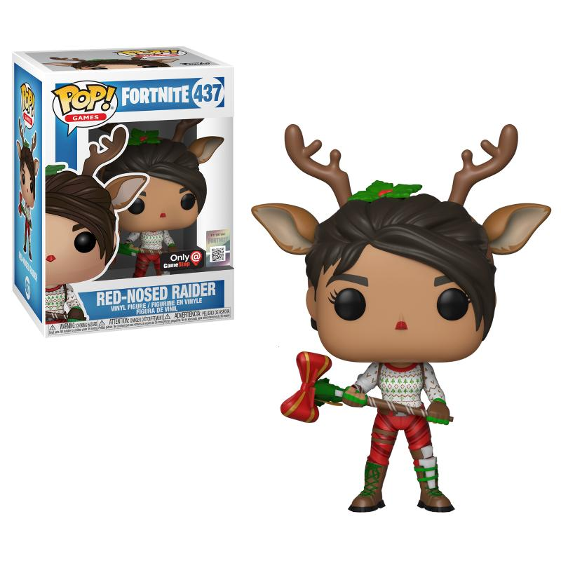 pop games fortnite red nosed raider only at gamestop - red nosed raider fortnite pop