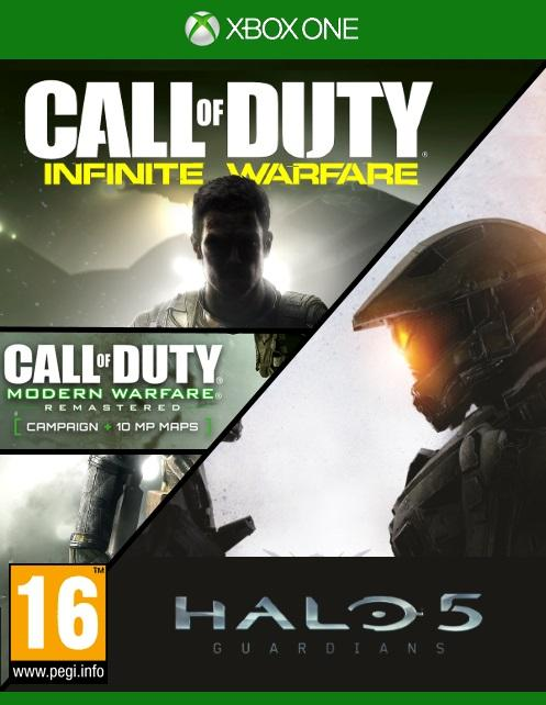 Halo 5:Guardians & Call of Duty: Infinite Warfare & Modern
