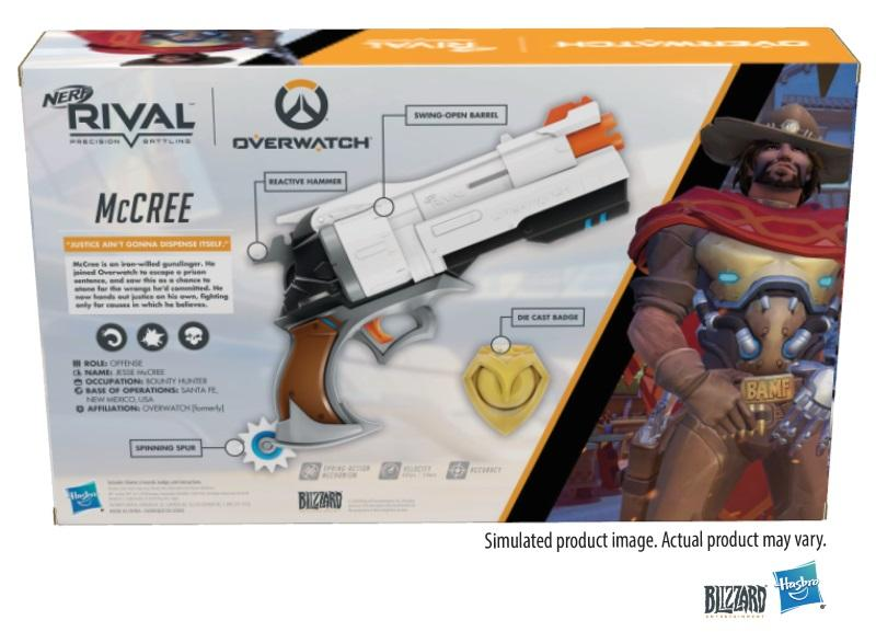 Overwatch: McCree Nerf Rival Blaster GameStop Ireland