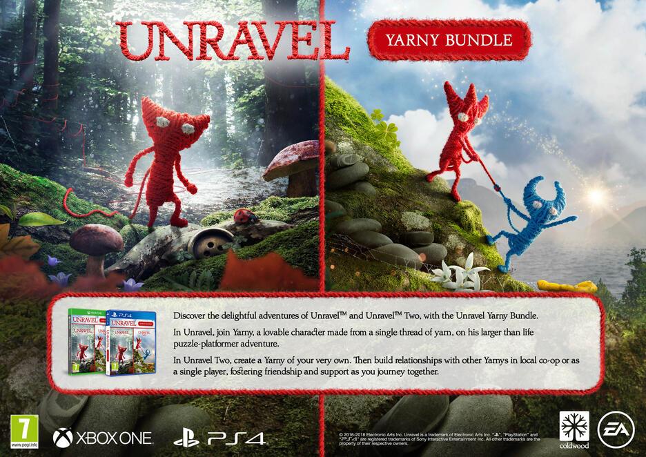 Unravel Yarny Bundle GameStop Ireland