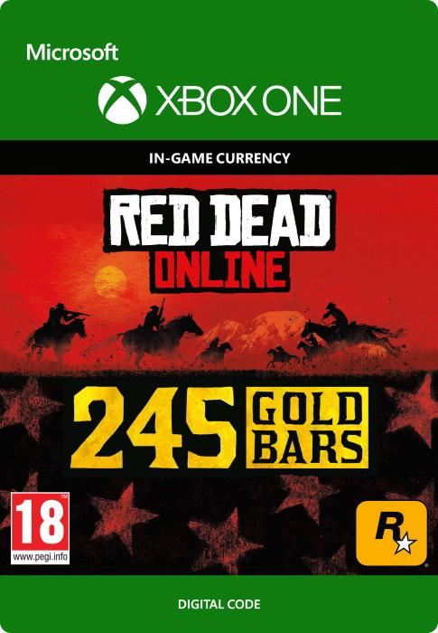 Red Dead Redemption 2: 245 Gold Bars for Xbox One GameStop