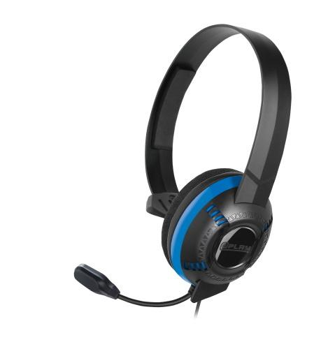 At Play Black Chat Headset for PS4