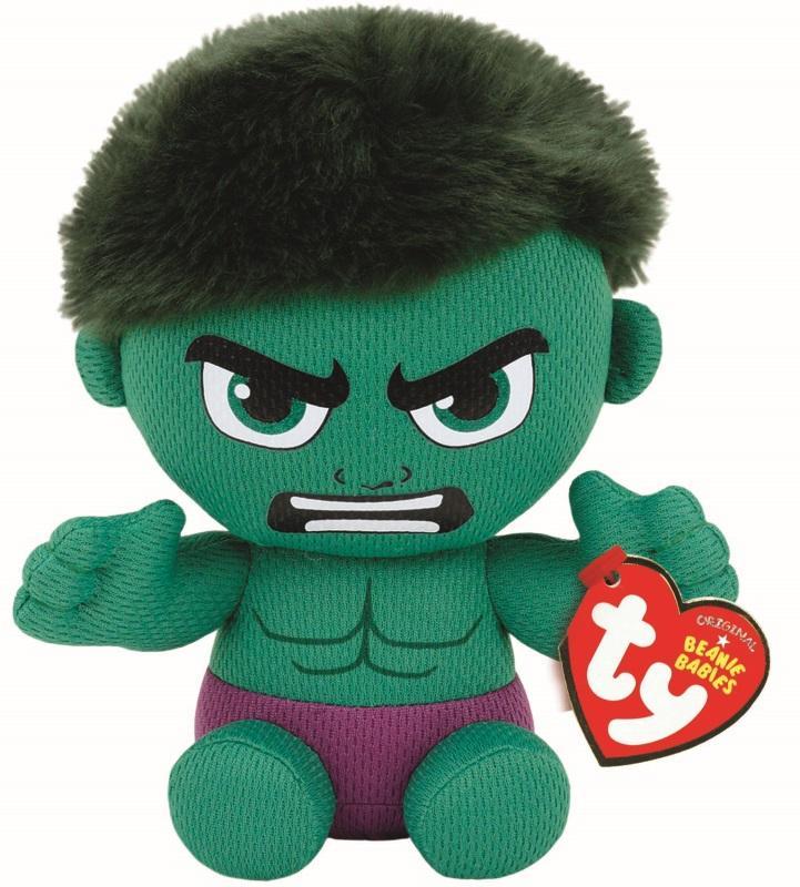 Beanie Babies  Marvel - Hulk Plush Gamestop 97a15f9540d