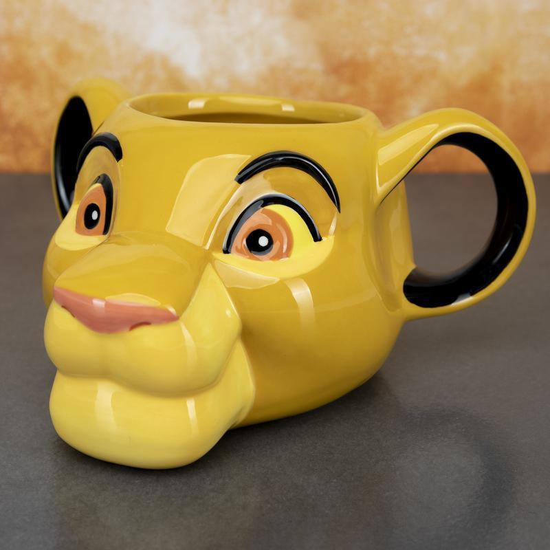 The Lion King: 3D Simba Mug