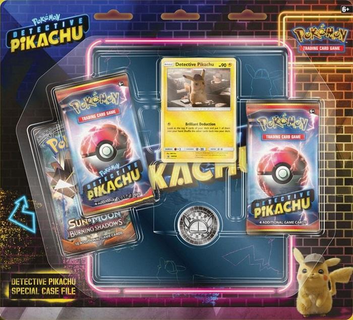 Pokemon TCG Detective Pikachu Case File