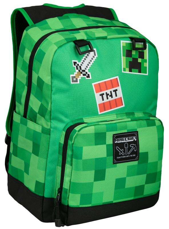 c46902ae64 Minecraft  Survival Badges Backpack Gamestop