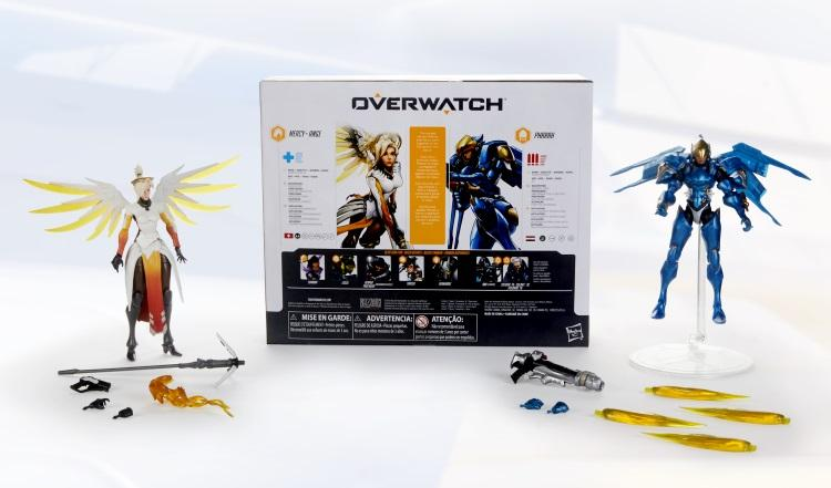 Overwatch Ultimate Series: Mercy and Pharah 6-inch Collectible Action Figure Dual Pack