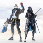 Overwatch Ultimate Series: Shrike Ana and Soldier 76 6-inch Collectible Action Figure Dual Pack