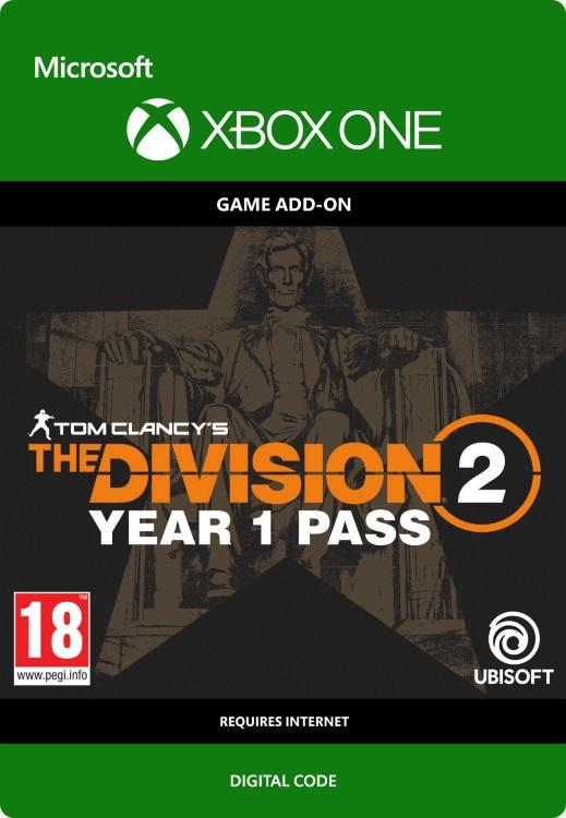 Tom Clancy's - The Division 2: Year 1 Pass for Xbox One
