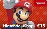 Nintendo eShop Card €15