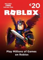 Roblox €20 Gift Card