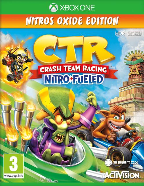 Crash™ Team Racing Nitro-Fueled Oxide Edition GameStop Ireland