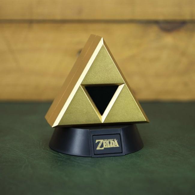 The Legend Of Zelda: Gold Triforce Icon Light GameStop Ireland