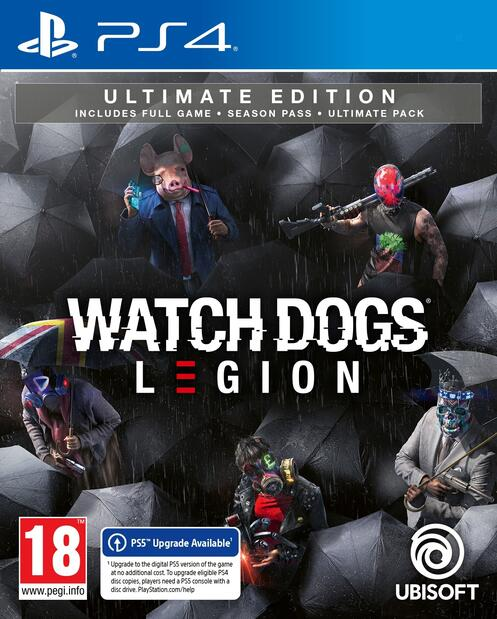 Watchdogs Legions Ultimate Edition