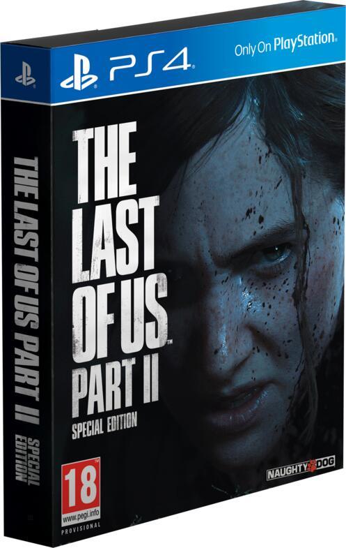 LAST OF US  PART 2 SE PS4