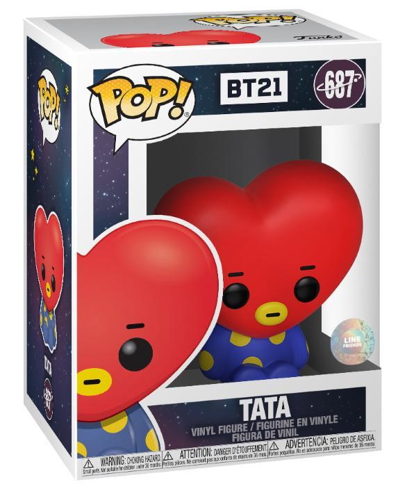POP Animation: BT21 - Tata