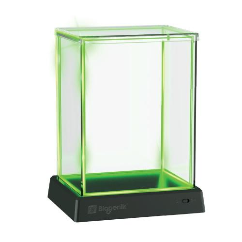 Biogenik: GlowBox Green LED Display Case