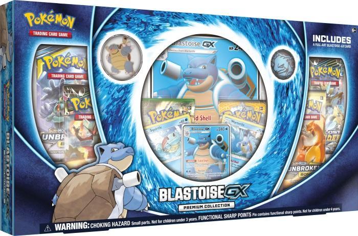 Pokémon TCG: Blastoise-GX Premium Collection