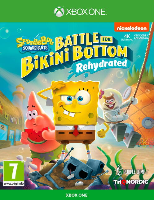 Spongebob Squarepants: Battle for Bikini Bottom Rehydrated