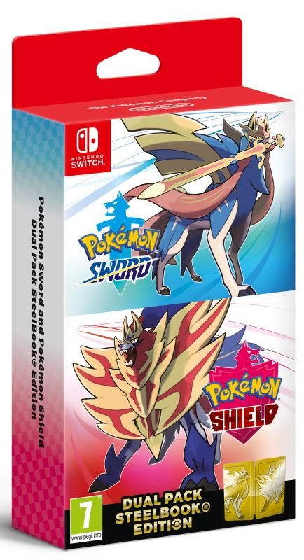 Pokémon Sword and Pokémon Shield Dual Edition GameStop Ireland