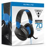 Turtle Beach® Black Recon 70 Headset for PS5™ & PS4™