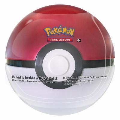 Pokémon TCG: Poke Ball Tin Series 3
