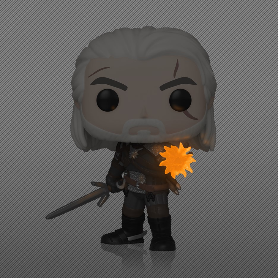 Pop! Games: The Witcher 3: Wild Hunt - Geralt (IGNI) [Only At Gamestop]