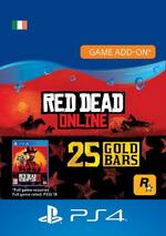 Red Dead Redemption 2: 25 Gold Bars for PS4