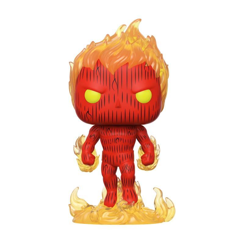 POP Marvel: Fantastic Four - Human Torch