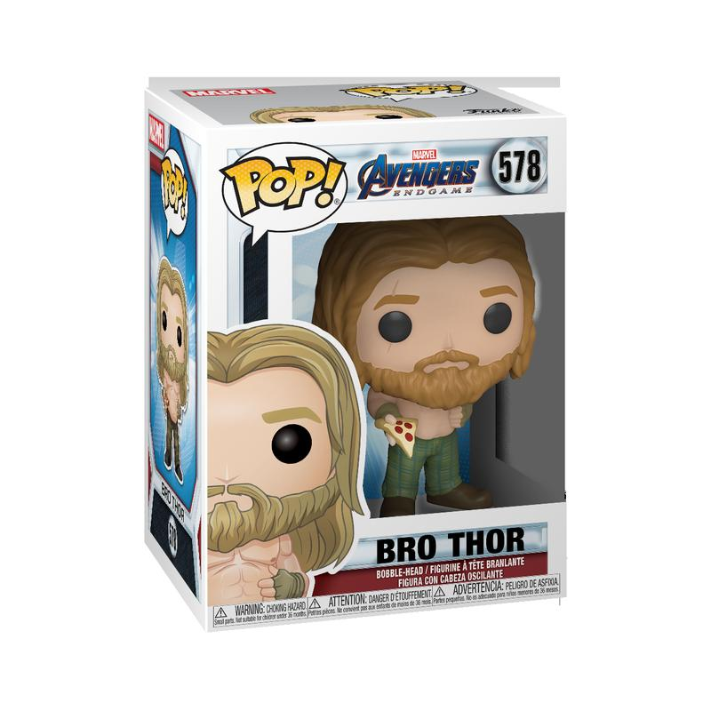 POP Marvel: Endgame - Thor with Pizza