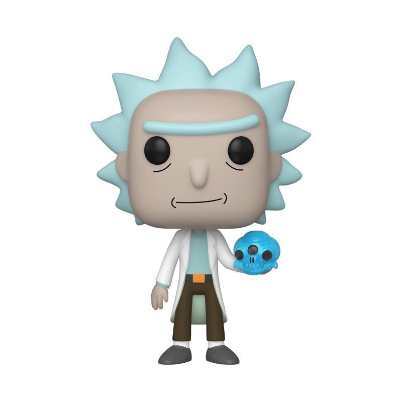 POP Animation: Rick & Morty - Rick w/Crystal Skull