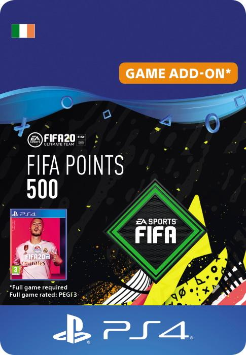 FIFA 20 Ultimate Team™ - 500 FUT Points for PS4 [DIGITAL]
