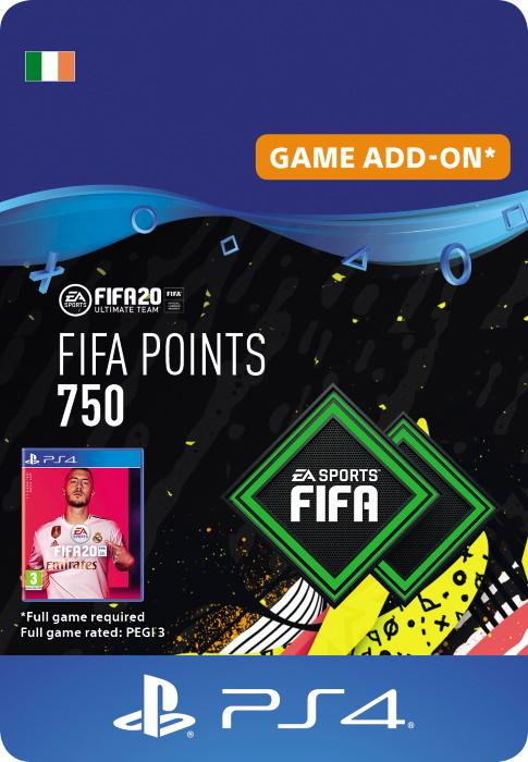 FIFA 20 Ultimate Team™ - 750 FUT Points for PS4 [DIGITAL]