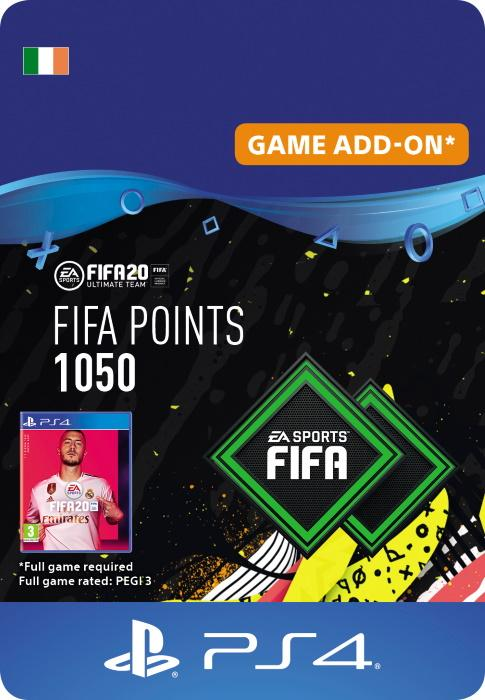 FIFA 20 Ultimate Team™ - 1050 FUT Points for PS4 [DIGITAL]