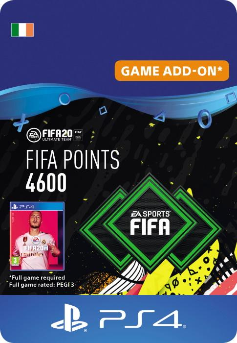 FIFA 20 Ultimate Team™ - 4600 FUT Points for PS4 [DIGITAL]