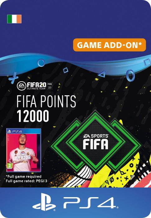 FIFA 20 Ultimate Team™ - 12000 FUT Points for PS4 [DIGITAL]