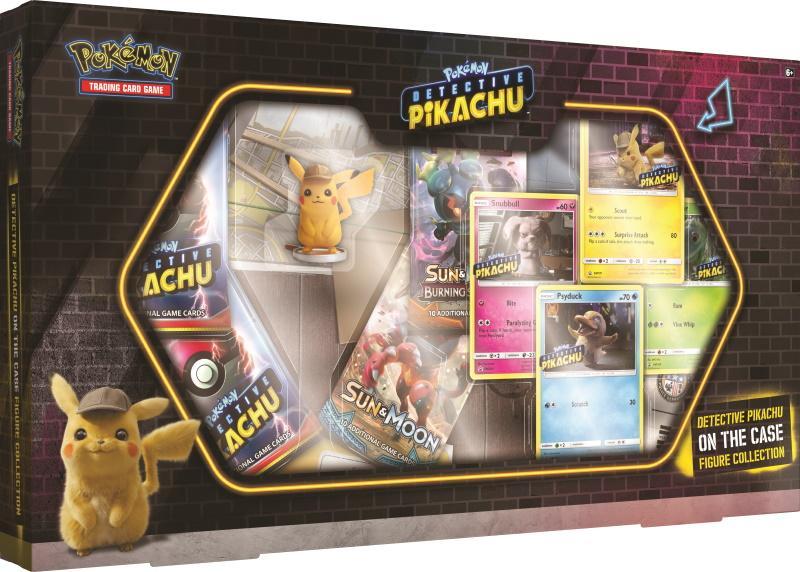 Pokémon TCG: Detective Pikachu On the Case Figure Collection