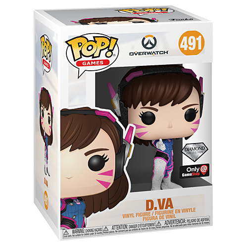 Pop! Games: Overwatch - D.Va (Diamond Collection) [Only At Gamestop]