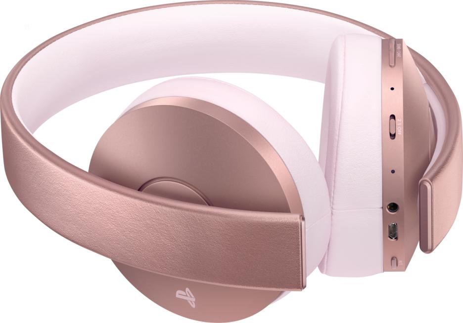 PlayStation®4 Rose Gold Edition Wireless Headset