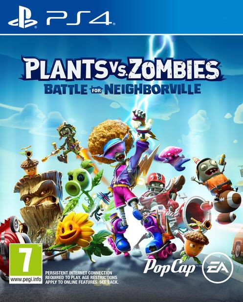 Plants V Zombies PS4