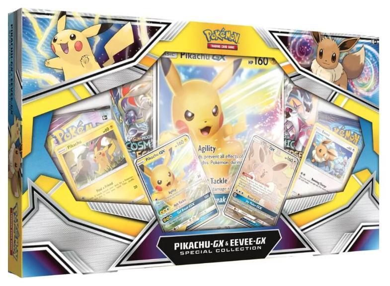 Pokémon TCG: Pikachu-GX & Eevee-GX Special Collection