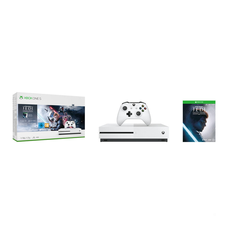 Xbox One S 1TB Console & Star Wars™ Jedi: Fallen Order™