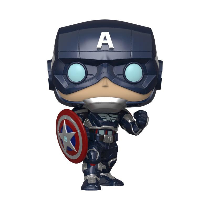 POP Marvel: Avengers Game - Captain America (Stark Tech Suit)