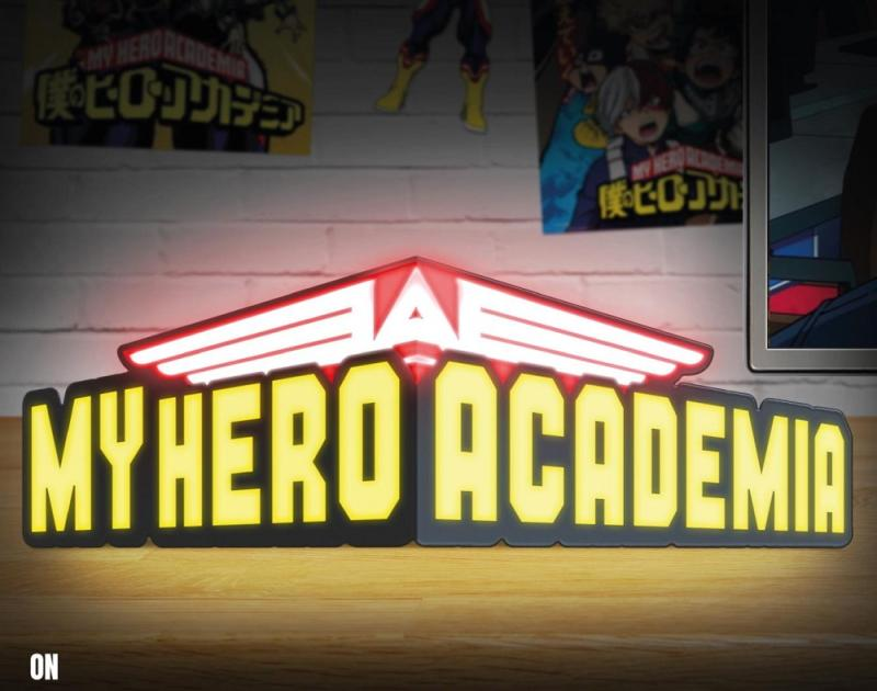 My Hero Academia - My Hero Academia Logo Light