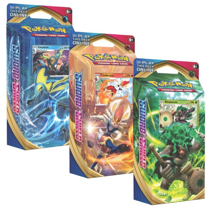 Pokémon TCG: Sword & Shield Theme Deck