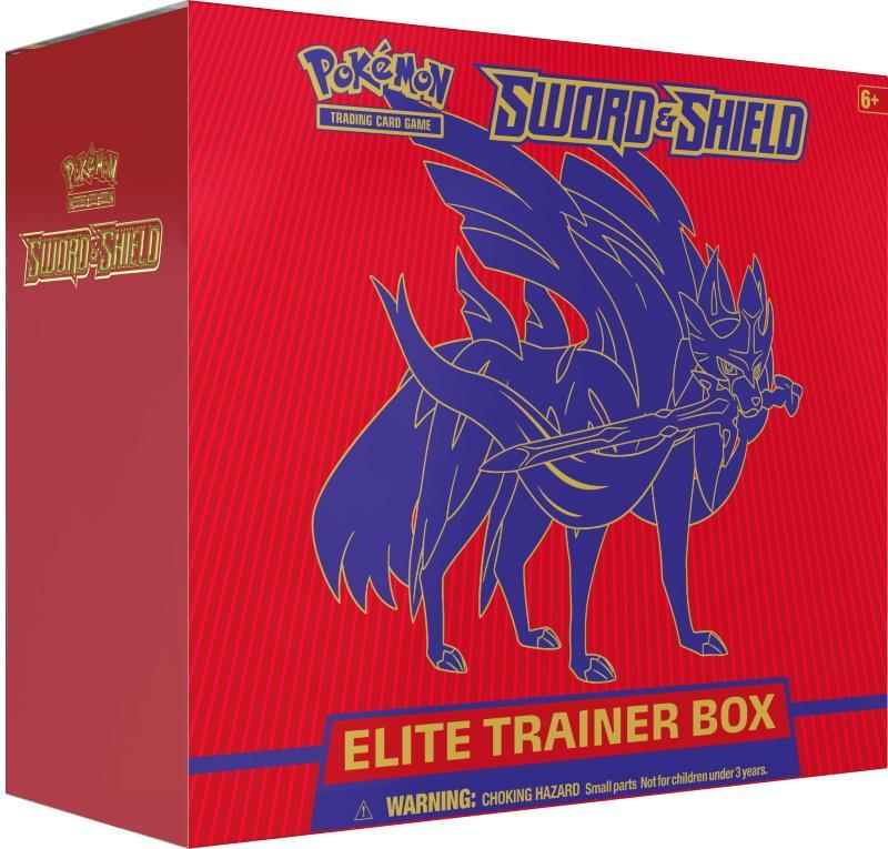 Pokémon TCG: Sword & Shield Elite Trainer Box
