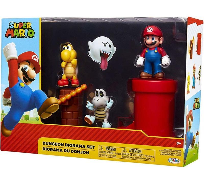 World of Nintendo: Super Mario Dungeon Diorama Set