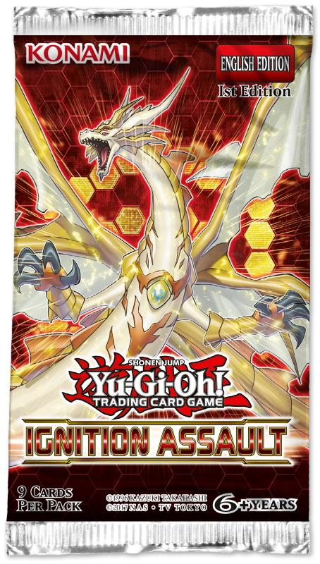 Yu-Gi-Oh! TCG: Ignition Assault Booster Pack [Assorted]