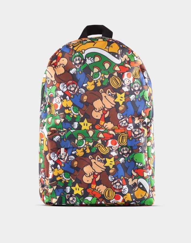 Nintendo: Super Mario Characters AOP Backpack