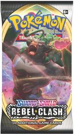 Pokémon TCG: Sword & Shield - Rebel Clash Booster Pack